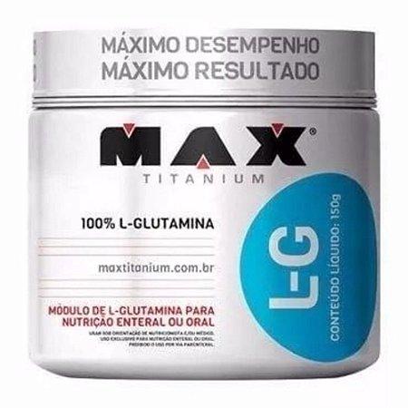 L Glutamina 300 Grs Max Titanium - 100% Pura