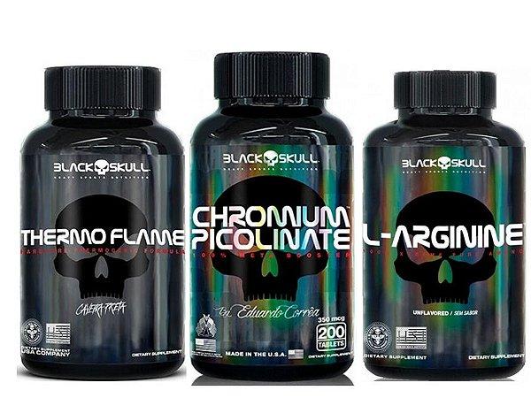 Combo Seca Gordura (Thermo Flame+L-Arginine+Chromium