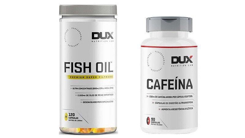 Kit Cafeína + Fish Oil Dux