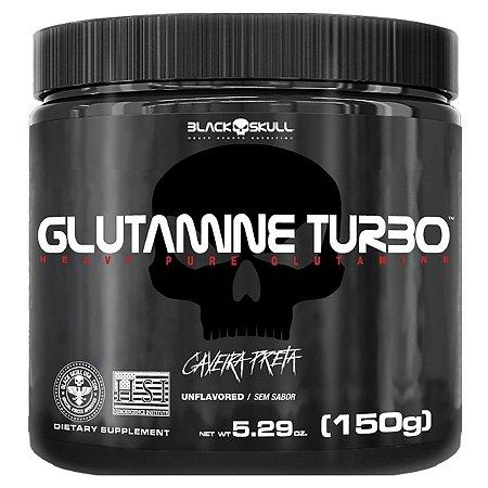 Glutamina Turbo 150G Black Skull
