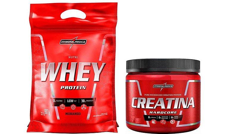 Whey Protein Nutri whey 900g + Creatina 150g integralmedica