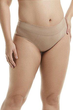 Calcinha Básica com Cós Duplo Plus-Size Mondress