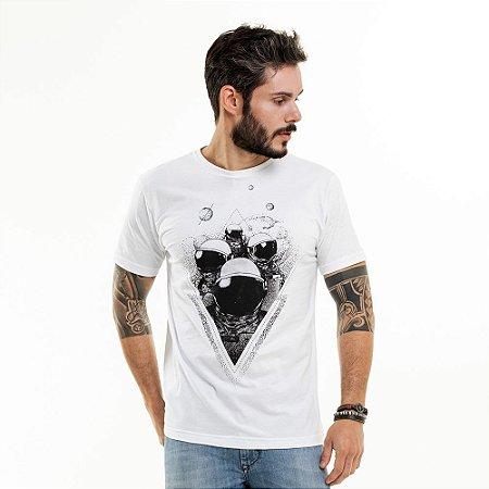 Camiseta Astronauta Branca