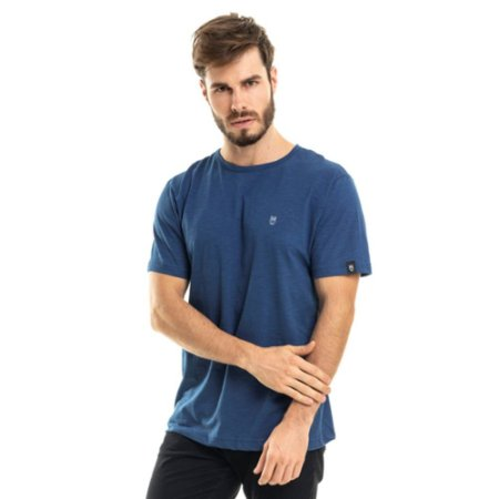 Camiseta Nogah Basic Azul Royal