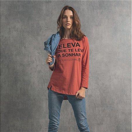 T-shirt Nogah Eleva Longline Terra