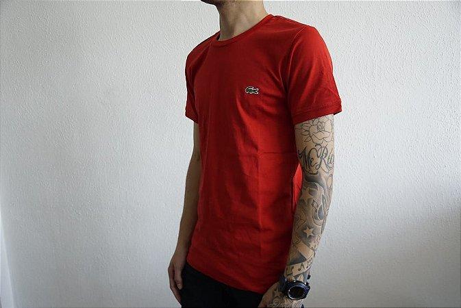 Camiseta Masculina Lacoste Basic 02 - Are Baba Marcas - Loja de ... 732fbb6c07