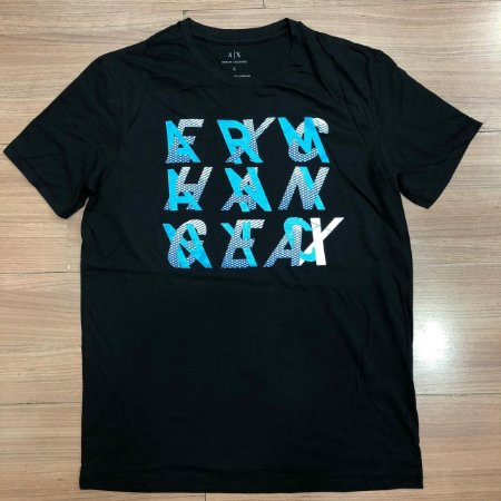 adb7bbc6c74 Camiseta Masculina Armani Exchange - Are Baba Marcas - Loja de ...