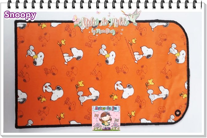 Porta Esteca de Amarrar - Snoopy