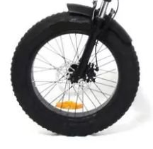 Roda dianteira aro 20 Fat Bike Completa