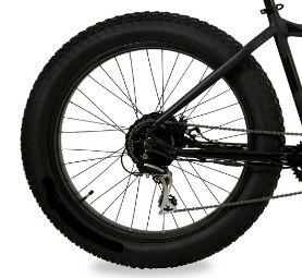 Roda Traseira aro 26 Fat Bike Completa