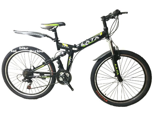 Bike Dobrável LXTX Full Suspension Shimano