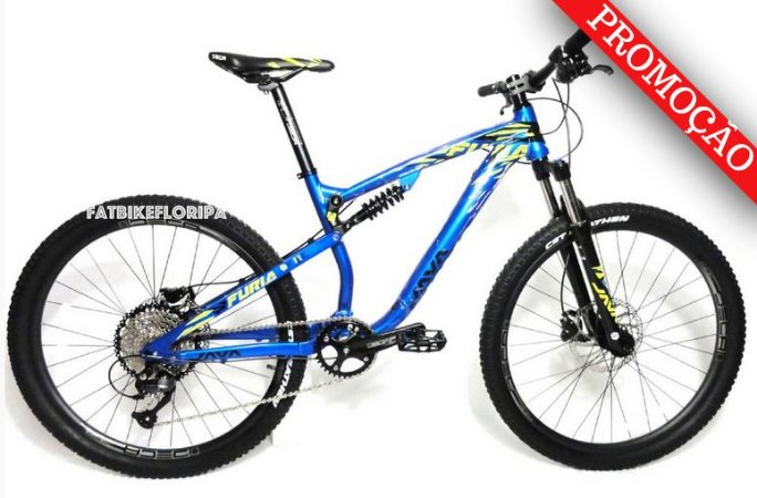 Bike Full Suspension 9v Java Furia