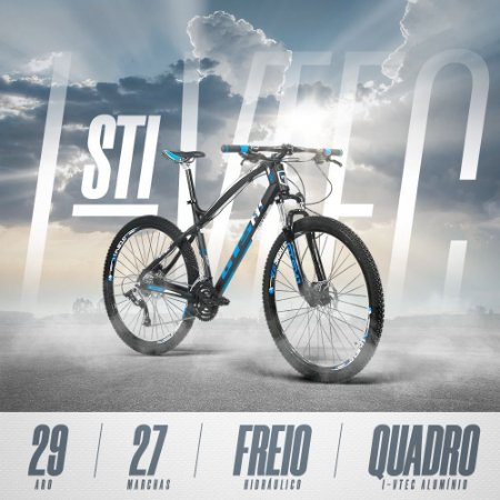 Bike I-vtec Gtsm1 27 marchas freio Hidráulico