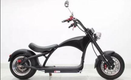 Scooter Elétrica Chopper estilo Harley