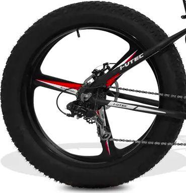 Rodas Magnésio Liga Leve três pontas para Fat Bike