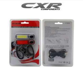 PISCA DIANTEIRO/TRASEIRO LED RECARREG. CXR