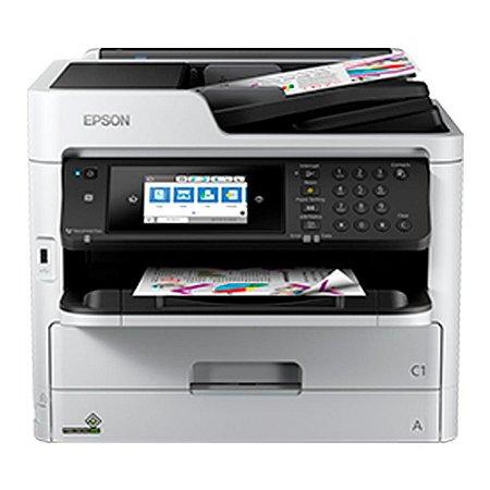 Instalamos Bulk ou Tanque na Impressora WF-C5790