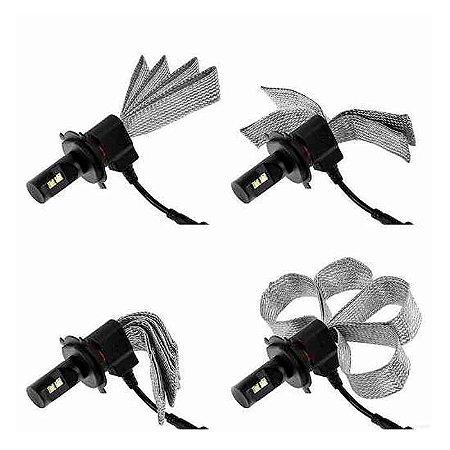 Lâmpadas Farol Super LED