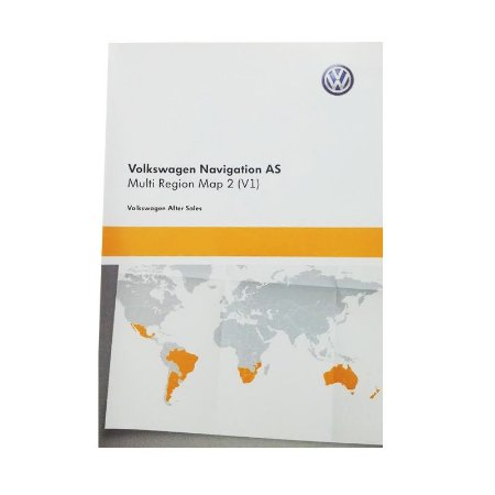 Cartão de Memória GPS Multi Região Map 2 Volkswagen