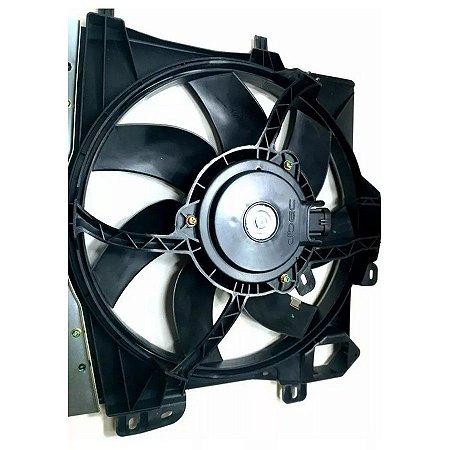 Ventoinha do Radiador Citroen C3 C2 09/14 Novo Completo 9682903980