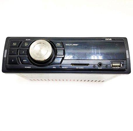 Radio multilaser One Som Automotivo Usado