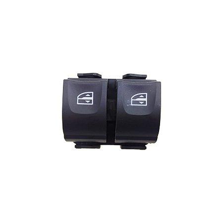 Botão Vidro Elétrico Duplo Renault  Duster / Sandero / Logan 254118032r