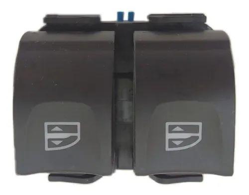 Interruptor Vidro Elétrico Duplo Logan / Sandero / Duster