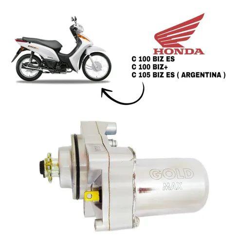 Motor De Partida Arranque Biz C100 Es / C 100 / C 105