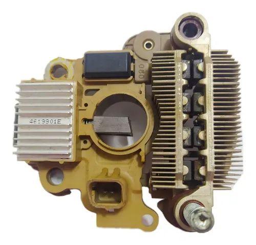 Placa Retificadora C/ Regulador De Voltagem Renault 4619901e