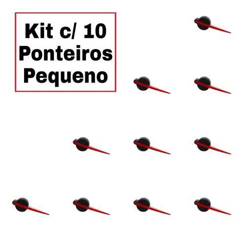 Kit Ponteiro Trans. Pequeno Painel Gol / Parati G3 - 10 Unid