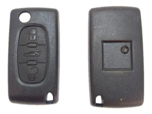 Capa Chave Canivete Peugeot 207 / 208 / 307 - 3 Botões