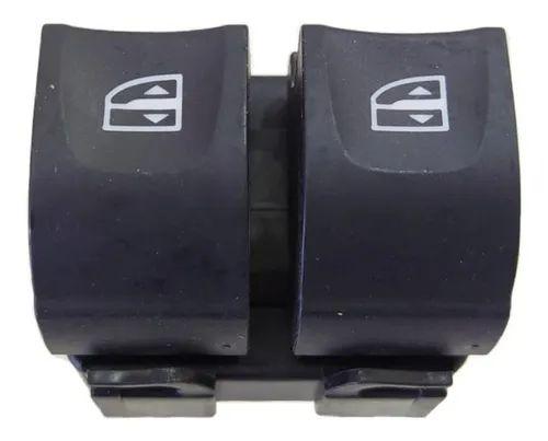 Interruptor Duplo Vidro Elétrico Duster / Logan / Sandero 254118044R