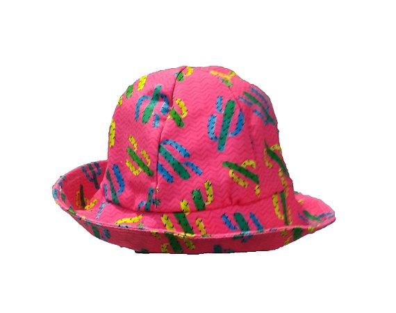 Chapéu com proteção solar UV 50 - Cactos
