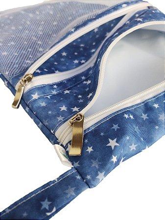 Sacola impermeável -  Estrela Azul