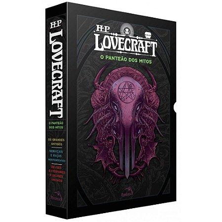 Box H. P. Lovecraft – O Panteão dos Mitos + Pôster + Marcadores