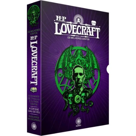 Box - H.P. Lovecraft - Os Melhores Contos