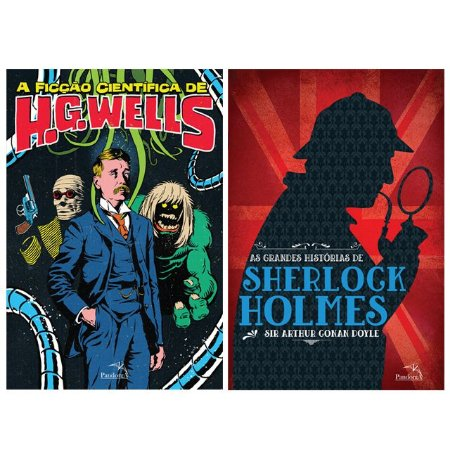 Combo H.G Wells + Sherlock Holmes