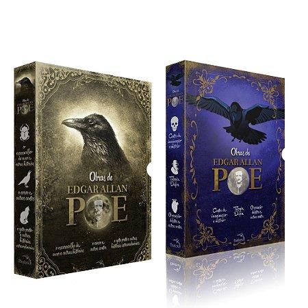 Combo Edgar Allan Poe  Volumes 1 e 2