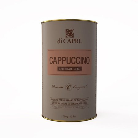 CAPPUCCINO CHOCOLATE SUIÇO| Lata 300g