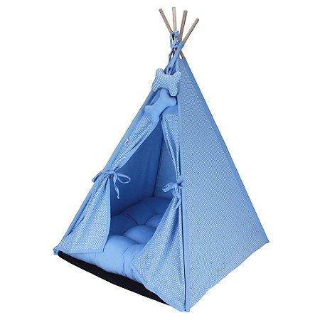 Cabana Camping Pet - Azul Poá - Tamanho Único