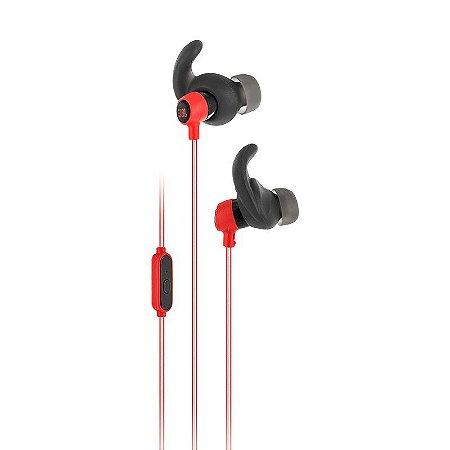 Fonde de ouvido intra auricular JBL Reflect Mini Vermelho