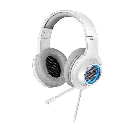 Headphone Gamer 7.1 Over-Ear Edifier G4 Branco