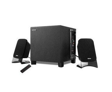 Caixa De Som com FM/USB e Cartão SD Edifier XM2PF Preto