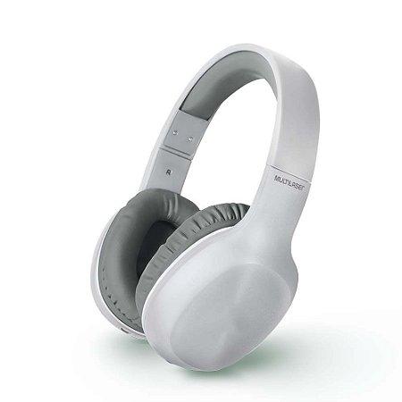 Fone de Ouvido Bluetooth P2 AUX Multilaser PH247 - Branco
