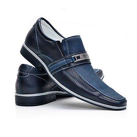 Sapato Masculino Casual Florense 3021 Azul