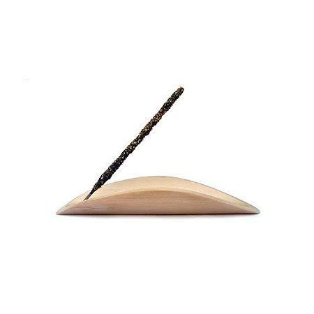 Incensário Porta Incenso Folha - Bambu