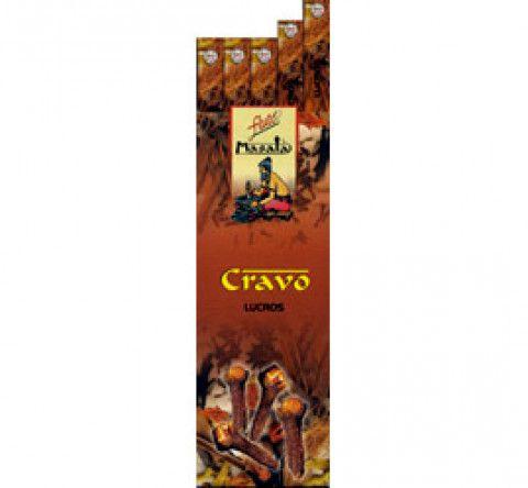 Incenso Massala Flute CRAVO (25 Caixas C/ 7 Varetas)