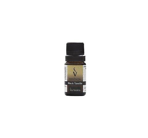 Essência Black Vanilla para Aromatizador de Ambiente - 10ml