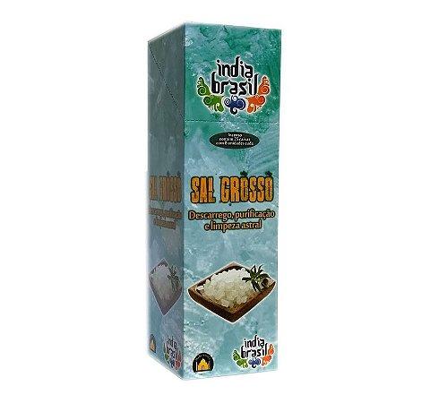 Caixinha de Incenso SAL GROSSO com 8 Varetas | Indiano | Varejo