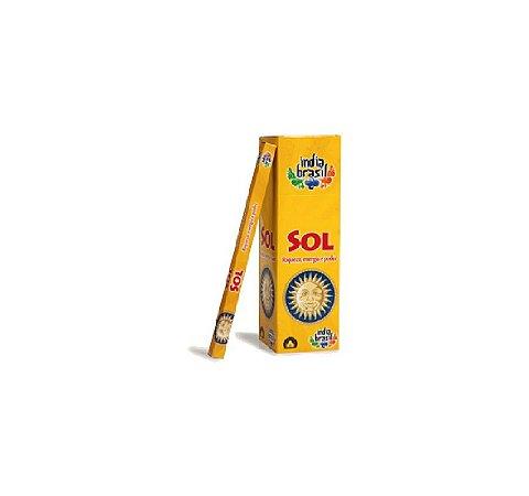 Incenso Premium SOL Kit 5 Caixas Fechadas 1000 Varetas